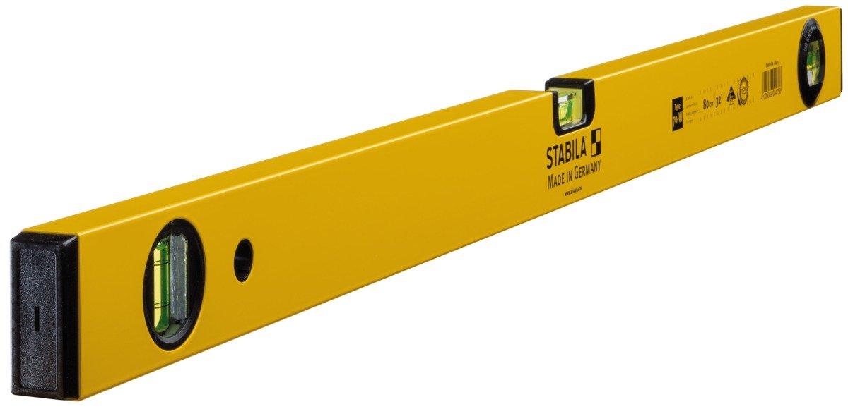 STABILA Wasserwaage Type 70 W, 80 cm, mit drehbarer Winkel-Libelle 02475/8