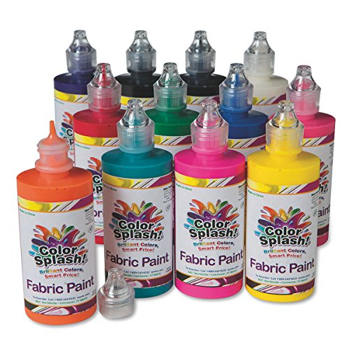 color splash fabric paint 4 oz - 1