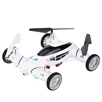Aire y Tierra RC Drone Quadcopter, One-Key Return 3D Rolling Modo ...