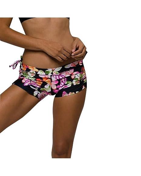 Amazon.com: Onzie Hot Yoga Wear Side String Short 204 ...