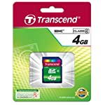 Transcend 4 GB Class 4 High Speed SDHC Flash Memory Card TS4GSDHC4 5 Lifetime warranty, the data storage solution you can trust Perfect for vast amounts of HD video and high-resolution images Compatible with all SDHC-labeled host devices (not compatible with standard SD)