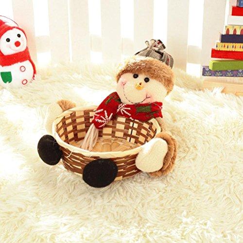 Christmas Candy Basket - 6