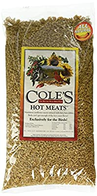 Cole's HM05 Hot Meats Bird Food, 5-Pound