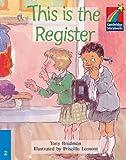 This Is the Register, Tony Bradman, 0521752116