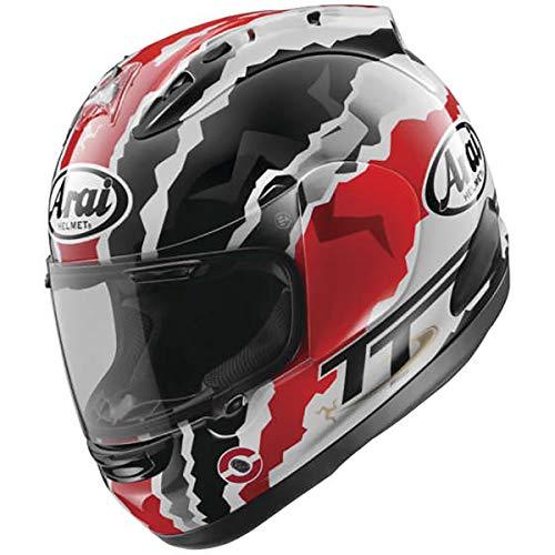 Arai Motorcycle Helmet Corsair - Arai Corsair-X Doohan TT Adult Street Motorcycle Helmet - Red/Medium