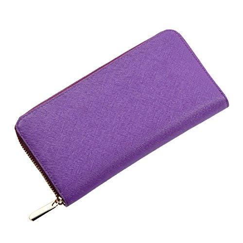 SUXCGE, Borsa a spalla donna Taglia unica Purple