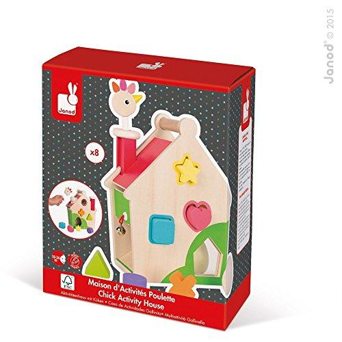 Janod Zigolos Hen Activities House Baby Toy