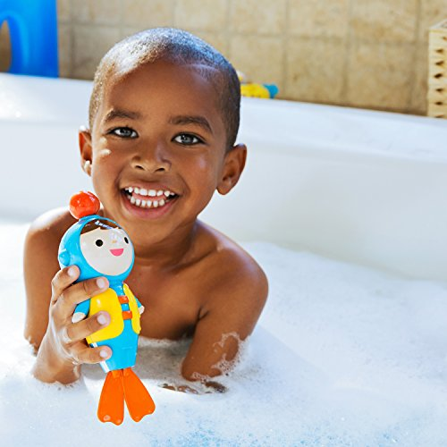 51cpoBqgdAL - Munchkin Baby's First Bath, 3 Piece Bath Toy Gift Set, Bath Gift Set