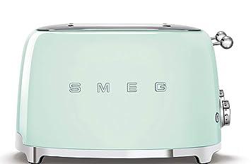 Smeg tsf03pgeu Tostadora, color verde pastel