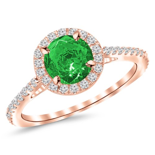 0.5 Ct Emerald Ring - 3