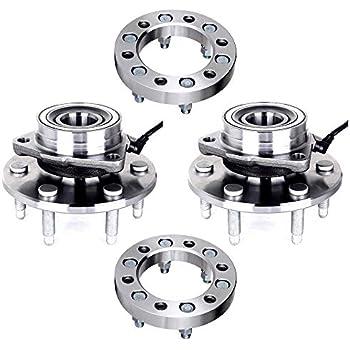 Amazon.com: ECCPP 6x5.5 to 6x5.5 Wheel spacers+515036 ...