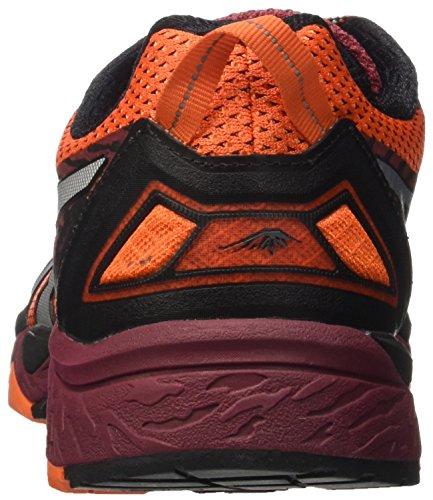 Asics Gel-Fujitrabuco 5, Zapatillas de Gimnasia para Hombre Arancione (Flame Orange/Silver/Pomegranate)