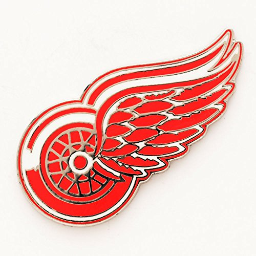NHL Detroit Red Wings 42528071 Collector Pin Jewelry Card