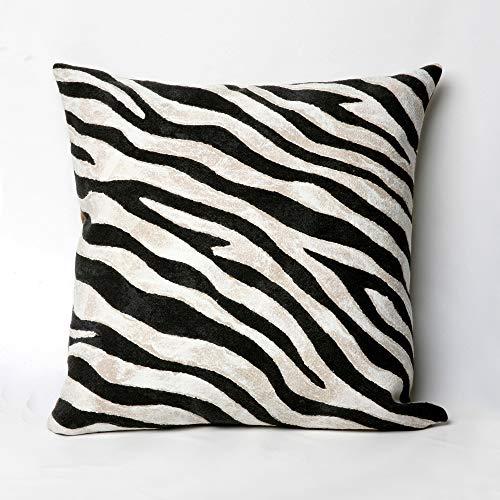 Liora Manne Mystic I Wild Horse Indoor/Outdoor pillow, Black - 20
