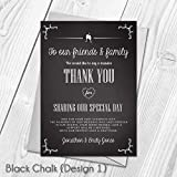 Personalised Wedding Thank You Cards   Wedding Guest Thanks