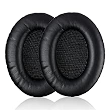 TurnRaise Sennheiser Replacement Pads, Replacement Ear Pads Earpad Protein Leather for Sennheiser HD Headphones HD418, HD419, HD428, HD429, HD439, HD438, HD448, HD449 Headphone Velvet - 2 Pieces