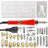 d76cb33f4b Enjoygous 35PCS Wood Burning Kit Tool Set