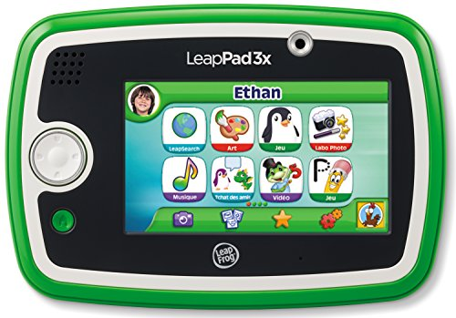 LeapFrog LeapPad 3x Kid' Learning Tablet Green French Only (Leap Pad 3 Learning Tablet)