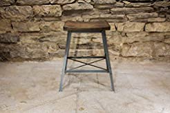 The Saddle Seat Bar Stool or Counter Sto...