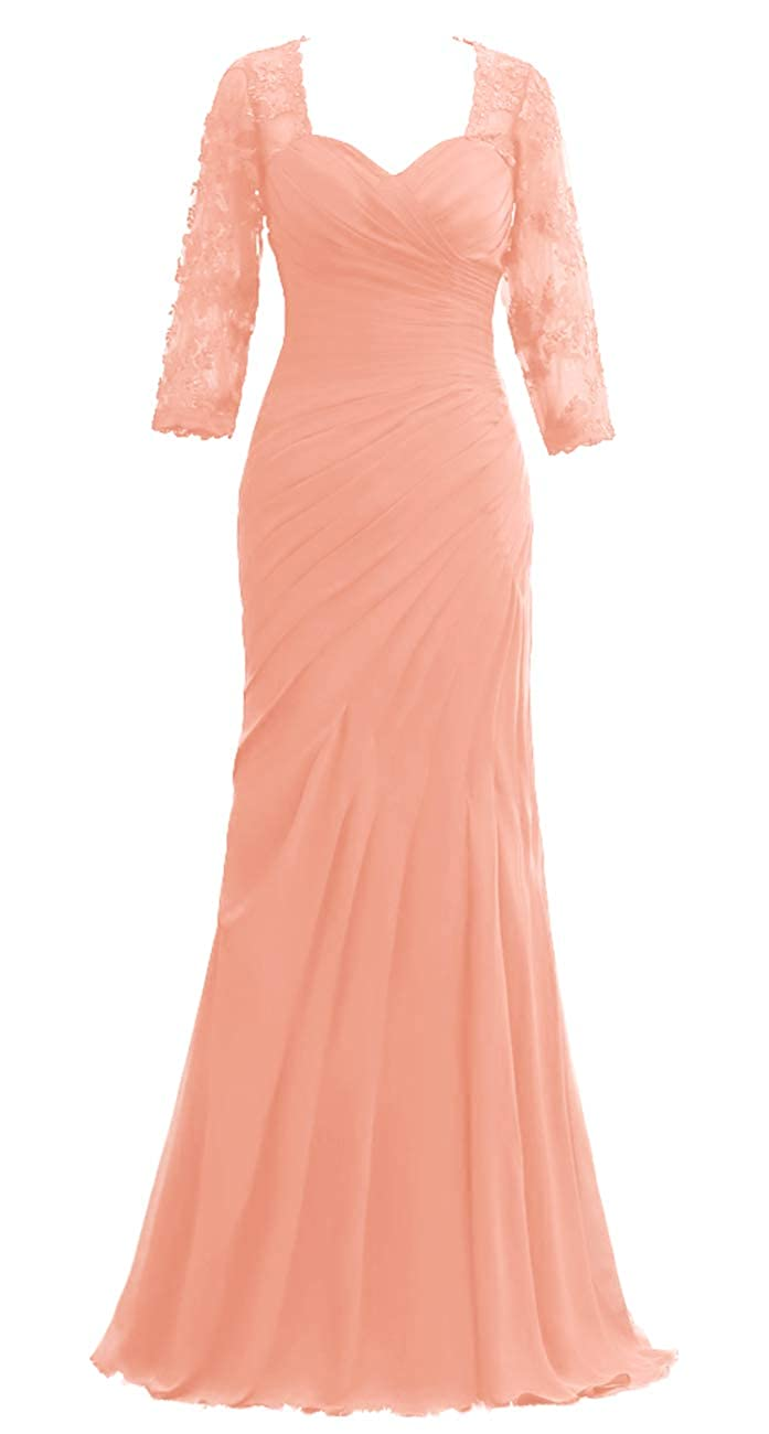 140 JAEDEN Mother of The Bride Dresses Long Sleeves Evening Gowns for Women Formal