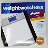 Weight Watchers Glass and Stainless Steel Designer Digital Bathroom Scale.  ....