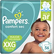 Fraldas Pampers Supersec XXG 56 Unidades, Pampers