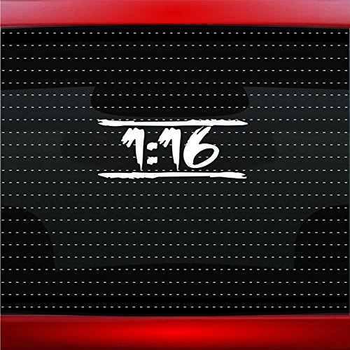 Romans 116 #10 Unashamed Christian Car Sticker Truck Window Vinyl Decal COLOR: GREEN