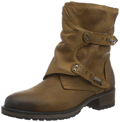 SPM Iyam Ankle Boot, Stivali a metà Polpaccio con Imbottitura Leggera Donna Marrone (Braun (Dk Cuoio 012))