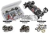 RC Screwz Metal Shielded Bearing Kit for Xray T2 '07 Euro/US Spec #xra013b