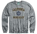 Ivysport Cal Berkeley Golden Bears Crewneck Sweatshirt, Legacy, Charcoal Grey, Medium