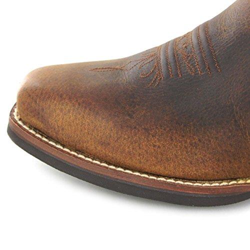 Fb Fashion Boots Justin Boots Svl7311 B Sevana Robusto Tan Buffalo / Donna Western Stivali Da Equitazione Marrone / Stivali Da Donna / Stivali Da Equitazione / Western Stivali Da Equitazione Marrone