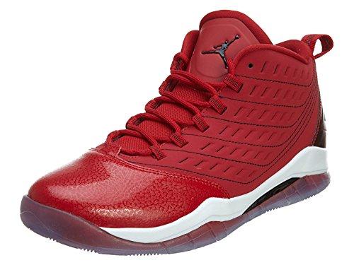 Nike Jordan Barn Jordan Hastighets Bg Basket Sko Röd / Vit-svart
