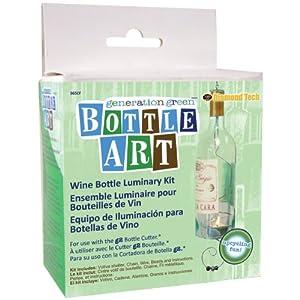 Generation green bottle art luminary kit arts for Generation green bottle cutter