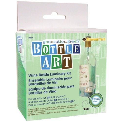 - Generation Green Bottle Art Luminary Kit