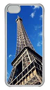 Iphone 5C Cases and Covers Under Eiffel Tower1 PC Shell Case Cover Protection for iPhone 5C - Transparent