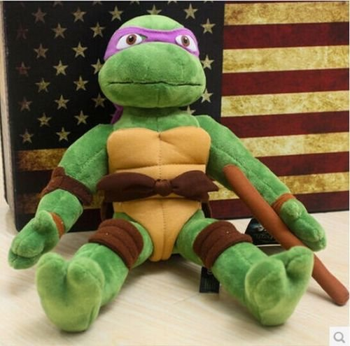 Teenage Mutant Ninja Turtles Donatello Soft Plush Stuffed Animal Toy Doll