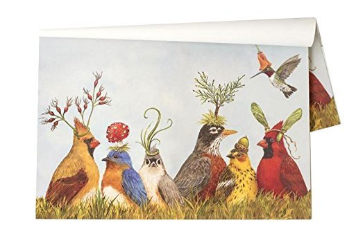 Kitchen Papers Angie's Party Disposable Placemats - 30 Sheets/Pack Made in USA by Hester and Cook