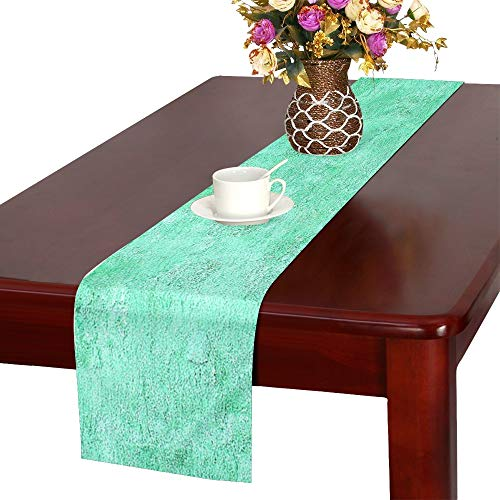 WBSNDB Wave Pattern Pattern Texture Template Abstract Table Runner, Kitchen Dining Table Runner 16 X 72 Inch for Dinner Parties, Events, Decor