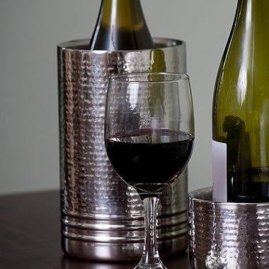 Ringed Hammered Wine Chiller