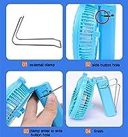 EJBOTH Mini Ventilador de Mano, USB Portable Ventilador Handheld ...