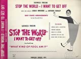img - for Songs From: Stop the World - I Want to Get Off - Easy Piano Arrangements - Sheet music book / textbook / text book