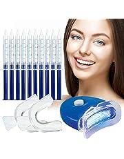 Teeth Whitening Kit,Tandenbleekset,tanden bleken,3D LED Tandenbleekset,10 Gelspuiten,Veilig Tanden Bleken Thuis,Effectieve Tandenbleker,Tanden bleken,Witte Tanden