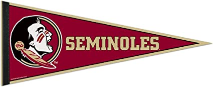 12 X 30 WinCraft Florida State Seminoles Premium Pennant