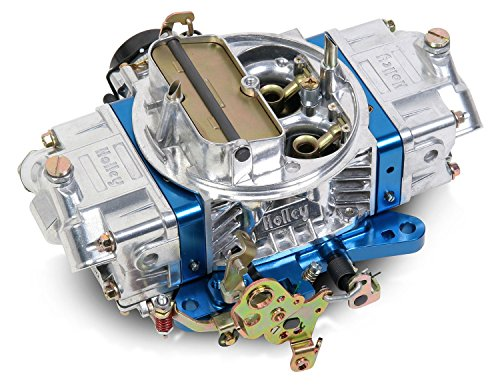 Holley 0-76750BL 750 CFM Ultra Double Pumper Four Barrel Street/Strip Carburetor - Blue