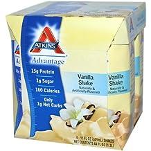 Atkins Advantage RTD Shake French Vanilla -- 4 Shakes