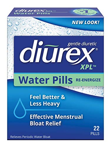 Diurex XPL Water Pills - Relieve Bloating & Fatigue - 22 Count