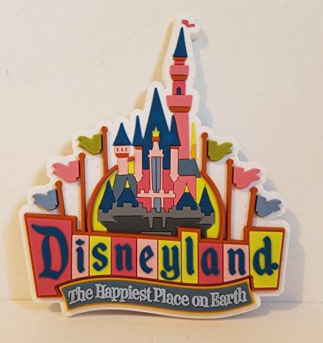 Disneyland Retro Princess Aurora's Sleeping Beauty's Castle Magnet