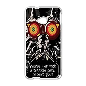 Happy You've Met With A Terrble Fate Fashion Comstom Plastic case cover For HTC One M7