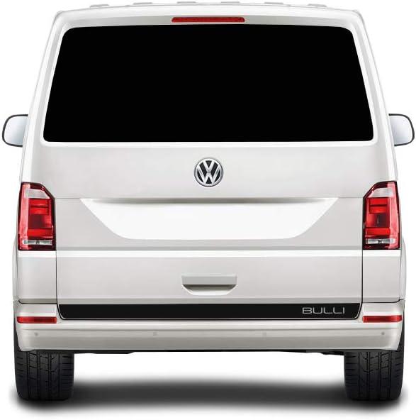 WRAP-SKIN Seitenstreifen Set Bulli passend f/ür VW T4 T5 T6 Seitenaufkleber Aufkleber WS-03-08-10004 070M Schwarz Matt