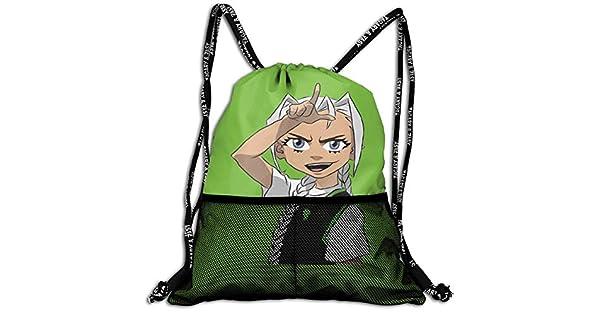 Amazon.com: Mochila con cordón Billie-Eilish-L con diseño de ...